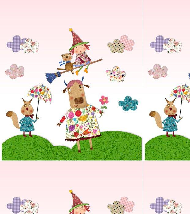 Tapeta Pixerstick Ilustrace pro děti - Slavnosti
