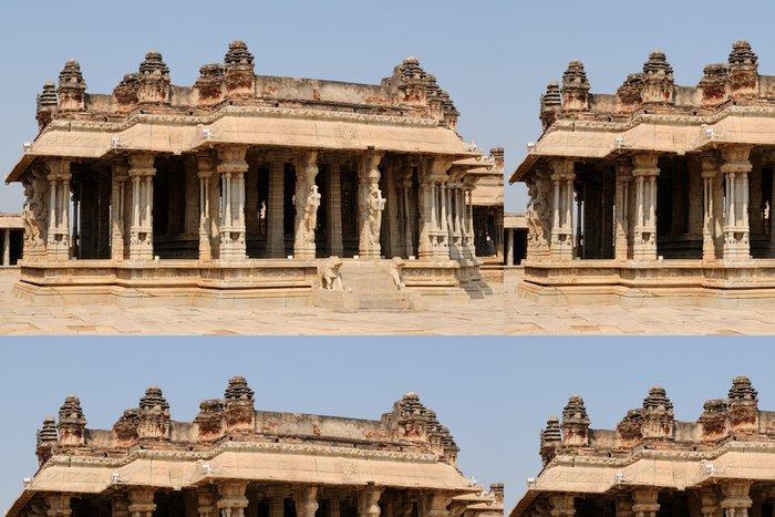 Tapeta Pixerstick Indická architektura v Hampi - Asie