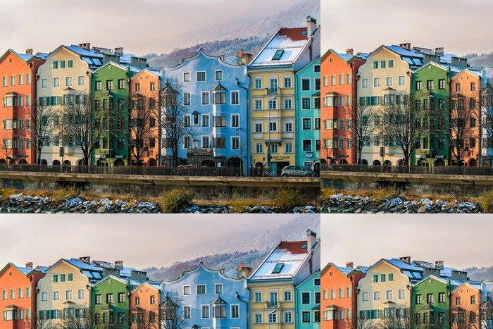 Vinylová Tapeta Innsbruck v zimě - Evropa