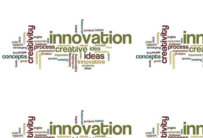 Tapeta Pixerstick Inovace slovo mrak - Prvky podnikání