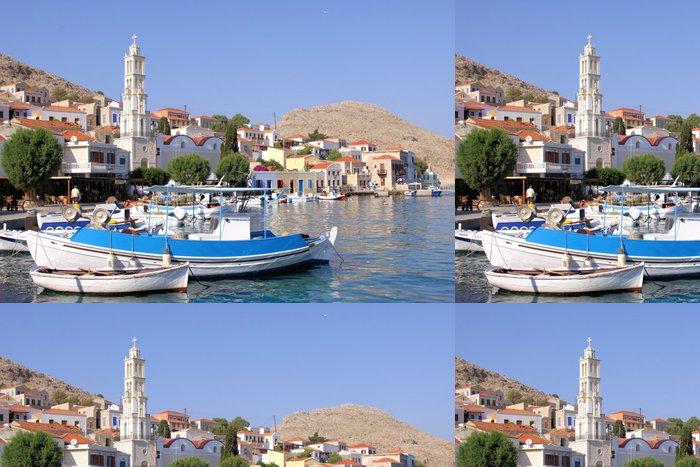 Tapeta Pixerstick Insel Chalki, Griechenland - Evropa