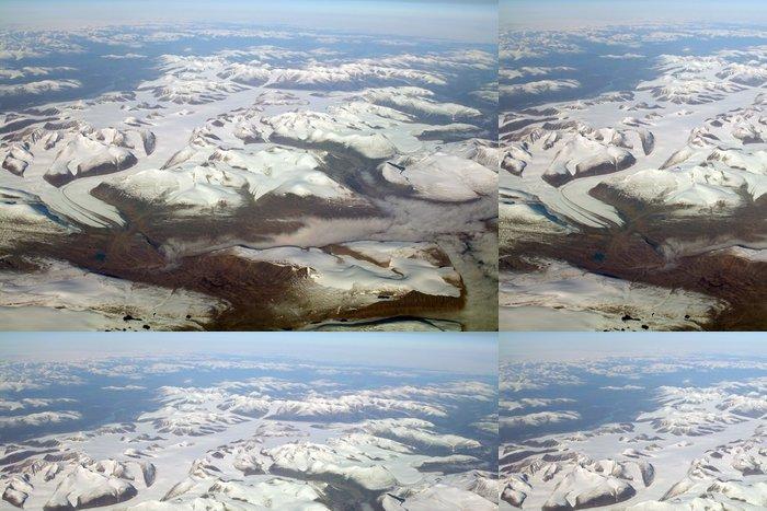 Tapeta Pixerstick Island ledovec - Evropa