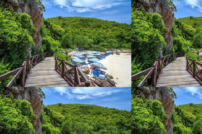 Vinylová Tapeta Island Paradise Beach - Asie