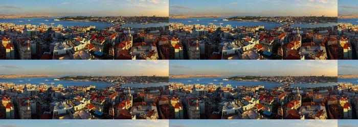 Tapeta Pixerstick Istanbul Panorama při západu slunce - Evropa