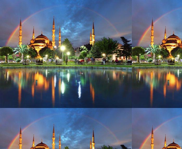 Tapeta Pixerstick Istanbul s duhou - Modrá mešita, Turecko - Témata