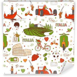 Vinylová Tapeta Itálie vzor