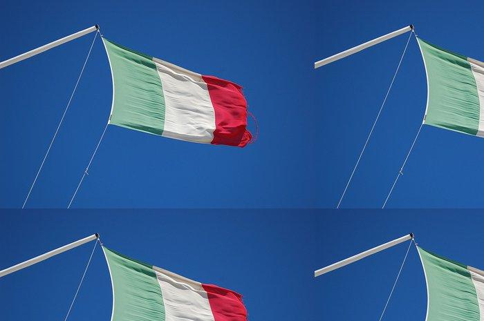 Tapeta Pixerstick Italská vlajka - Nebe