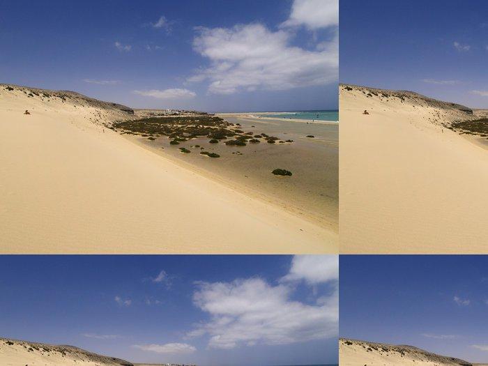 Tapeta Pixerstick Jandia Beach, Fuerteventura, Kanárské ostrovy, Španělsko - Prázdniny