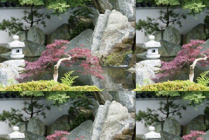 Tapeta Pixerstick Japonske zahrady - Soukromé budovy