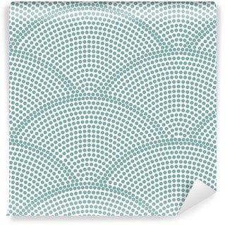 Vinylová Tapeta Japonský bezešvé ocean wave pattern