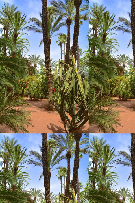 Vinylová Tapeta Jardin Majorelle - Afrika