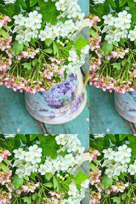 Tapeta Pixerstick Jarní květ - Pozadí