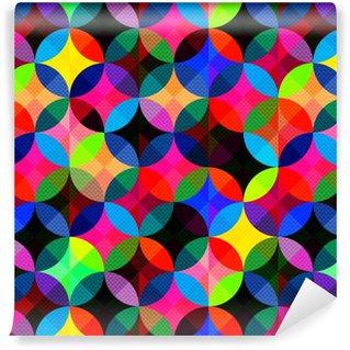 Vinylová Tapeta Jasný abstraktní geometrické bezproblémové pozadí