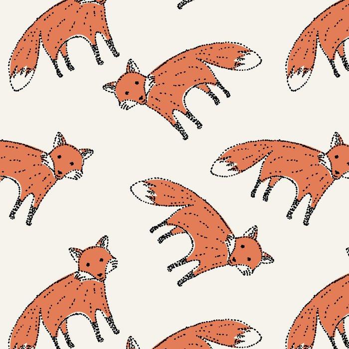 Tapeta Pixerstick Jednotný vzor - Imaginární zvířata