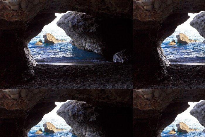 Tapeta Pixerstick Jeskyně na Sfakia - Prázdniny
