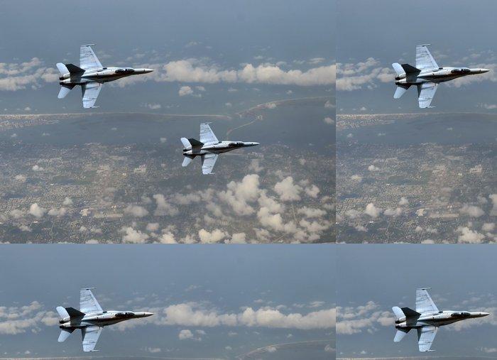 Tapeta Pixerstick Jetfighters ve vysoké nadmořské výšce - Témata