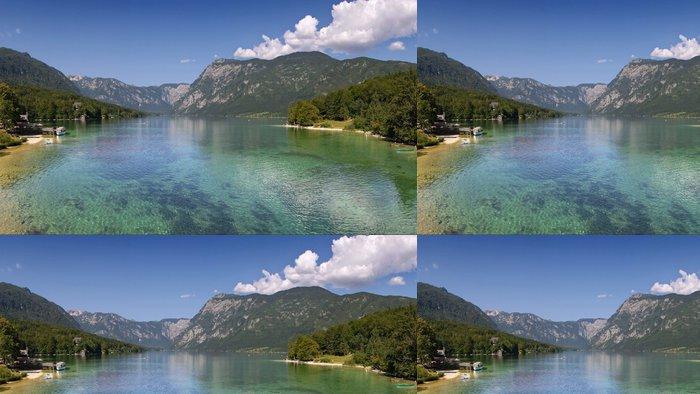 Vinylová Tapeta Jezero Bohinj v létě - Evropa