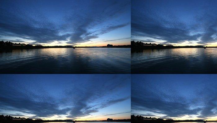 Vinylová Tapeta Jezero Burley Griffin - Oceánie
