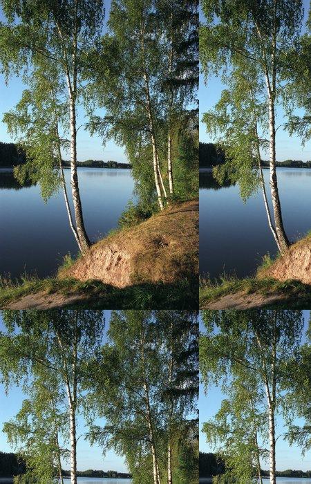 Tapeta Pixerstick Jezero istra - Outdoorové sporty