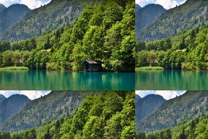 Tapeta Pixerstick Jezero Kapruner v Kaprunu - Hory