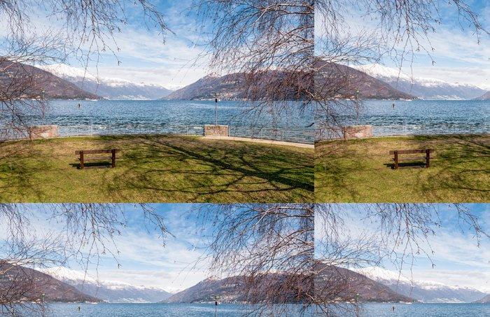 Tapeta Pixerstick Jezero Maggiore od Germantownu - Prázdniny