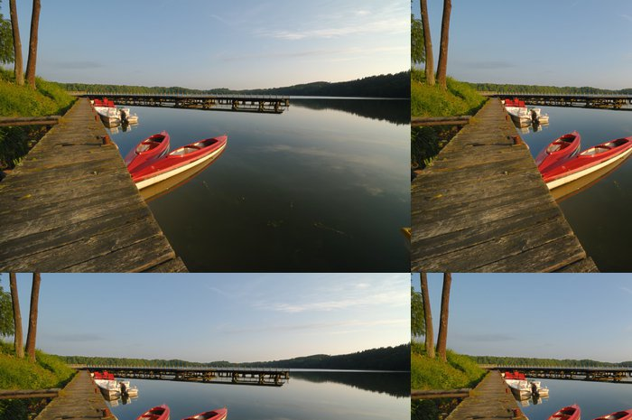 Tapeta Pixerstick Jezero v Mazury regionu Polsko - Prázdniny
