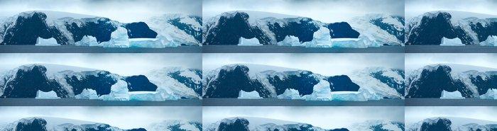 Vinylová Tapeta Jižní Orkneje v antarktickém prostoru - Severní a jižní pól