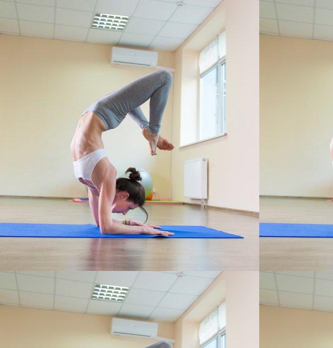 Tapeta Pixerstick Jóga cvičení - Individuální sporty