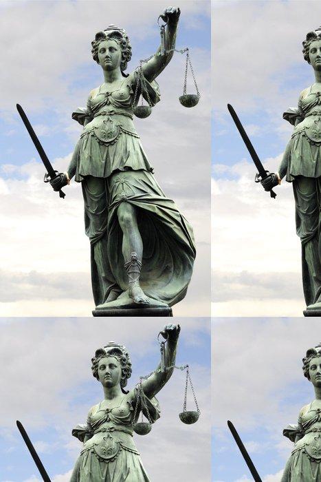 Vinylová Tapeta Justitia - Spravedlnost