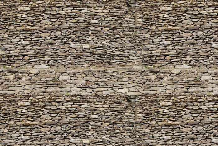 Vinylová Tapeta Kamenná zeď - Památky