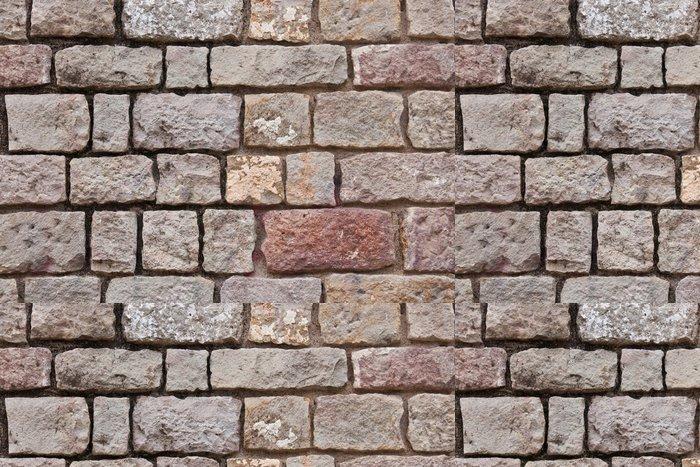 Tapeta Pixerstick Kamenná zeď - Surové materiály