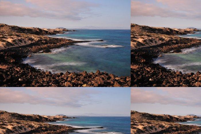 Vinylová Tapeta Kanárské ostrovy - Fuerteventura - Prázdniny