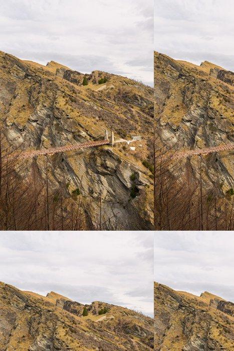 Tapeta Pixerstick Kapitáni most v kaňonu Skippers - Hory