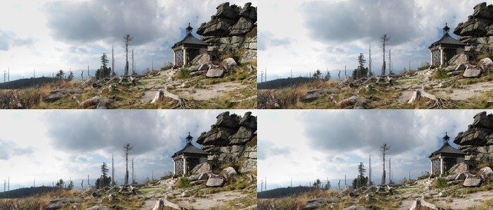 Tapeta Pixerstick Kaple pod vrchol Hochstein - Evropa