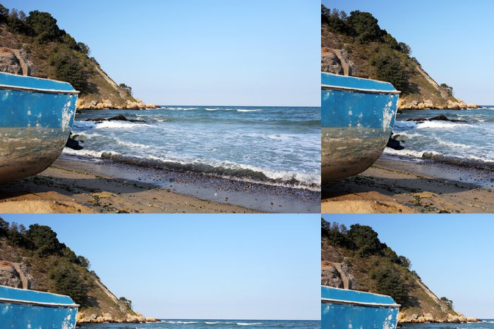 Tapeta Pixerstick Karadere pláž - Evropa