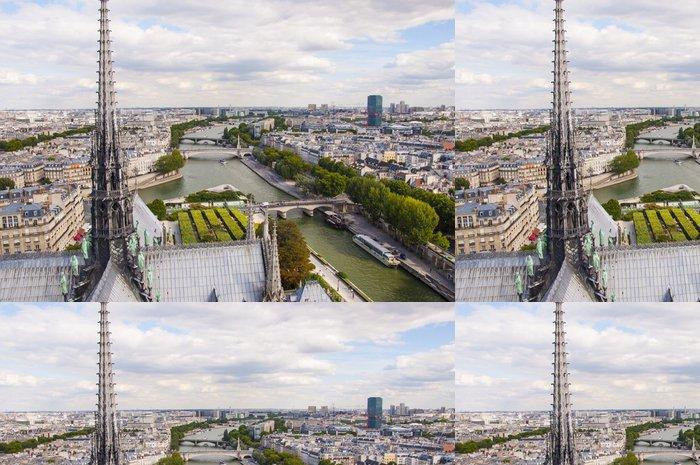 Vinylová Tapeta Katedrála Notre-Dame v Paříži - Evropská města
