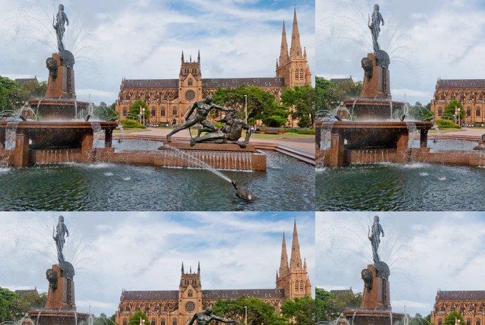 Tapeta Pixerstick Katedrála svaté Marie, Sydney - Oceánie