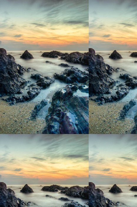 Tapeta Pixerstick Kemasik Beach - Asie