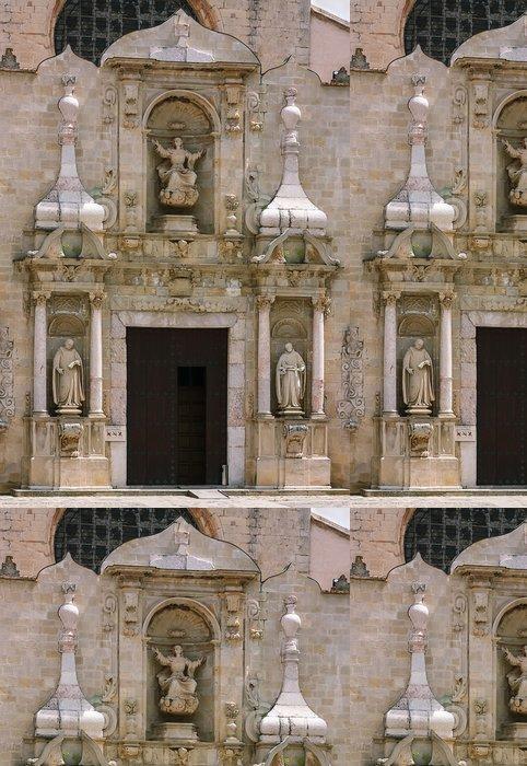 Tapeta Pixerstick Klášter Santa Maria de Poblet, Španělsko - Evropa