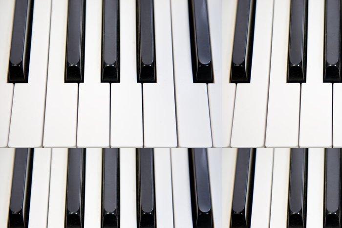 Tapeta Pixerstick Klavíru - Hudba