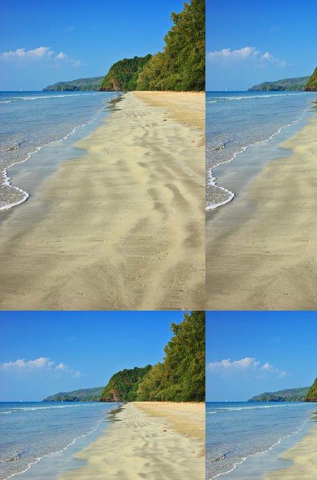 Vinylová Tapeta Klidný pohled na tropické písečné pláži, ostrov Tarutao - Prázdniny