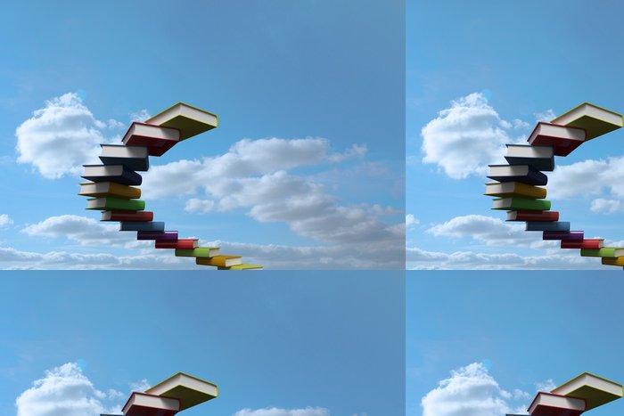 Vinylová Tapeta Kniha kroky proti obloze - Značky a symboly