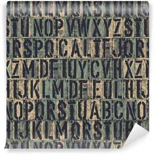 Tapeta Pixerstick Knihtisk bezešvé pozadí. Vektor, EPS8