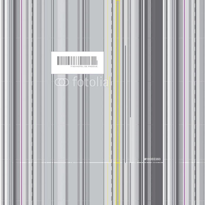 Vinylová Tapeta Kód barre abstraktní - Pozadí