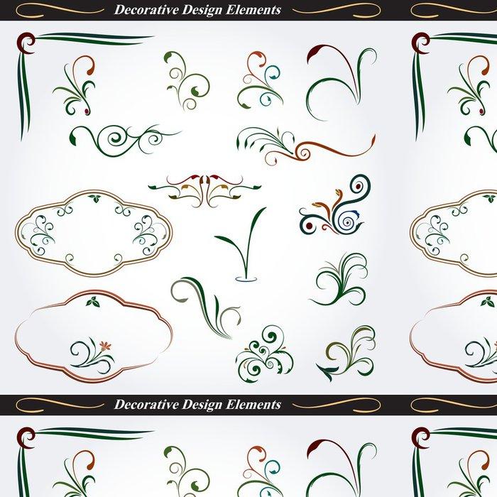 Vinylová Tapeta Kolekce dekorativních konstrukčních prvků 06 - Témata