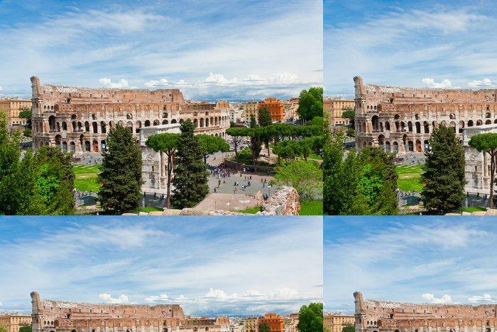 Vinylová Tapeta Koloseum v Římě - Itálie - Témata