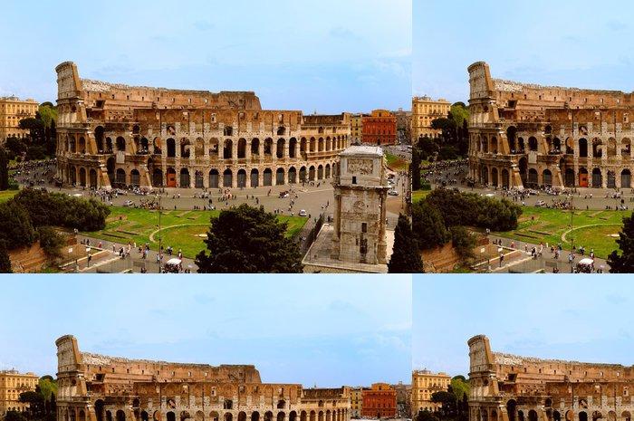 Tapeta Pixerstick Koloseum v Římě - Témata