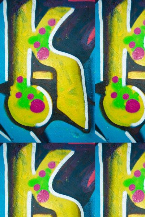 Tapeta Pixerstick Kool Graffiti zavřít - Umění a tvorba