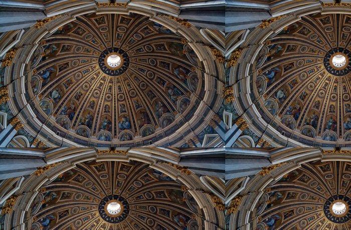 Tapeta Pixerstick Kopule baziliky svatého Petra - Evropská města