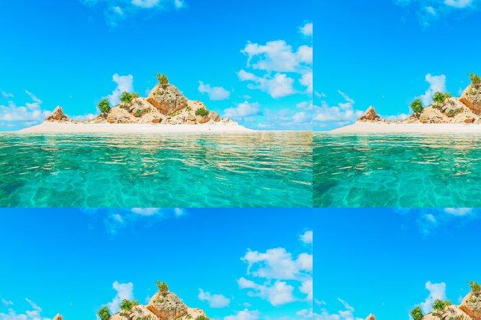 Vinylová Tapeta Korálový ostrov - Prázdniny